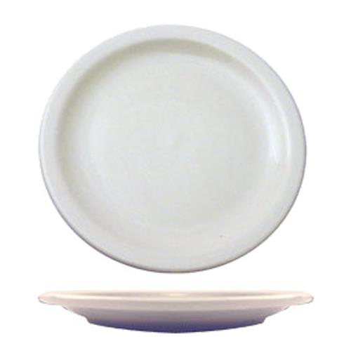 ITI BR-16 10 3/8 in Brighton Porcelain Plate for Restaurant Chef