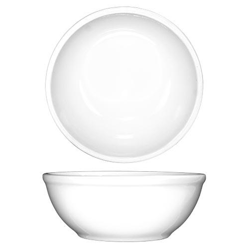 ITI DO-24 10 Oz Dover Porcelain Nappie Bowl for Restaurant Chef