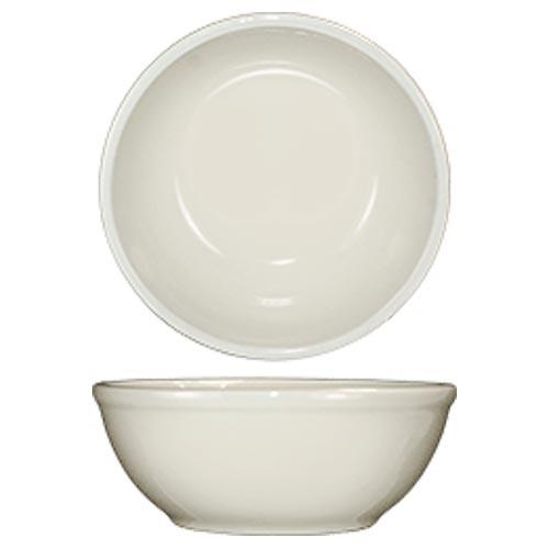 ITI RO-15 12 1/2 Oz Roma Nappie Bowl With Rolled Edge for Restaurant Chef