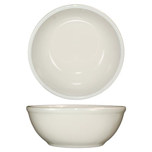 ITI RO-24 10 Oz Roma Nappie Bowl With Rolled Edge for Restaurant Chef