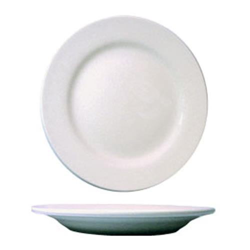 "ITI DO-16 Dover 10 1/2"" Porcelain Plate for Restaurant Chef"