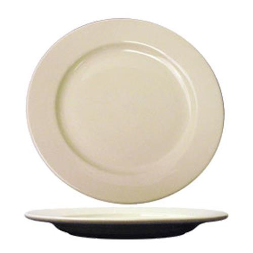ITI RO-7 7 1/8 in Roma Plate With Rolled Edging for Restaurant Chef