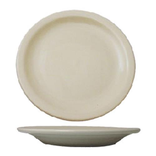 ITI VA-6 6 1/2 in Valencia Plate With Narrow Rim for Restaurant Chef