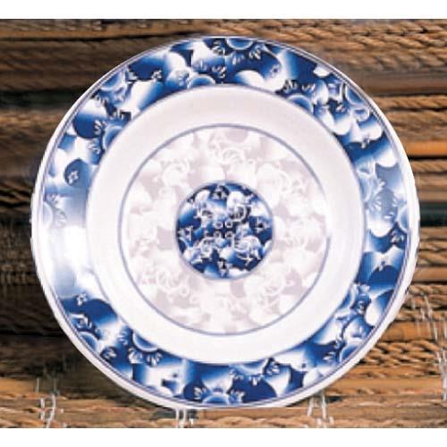 """7 7/8"""" Blue Dragon Soup Plate"""