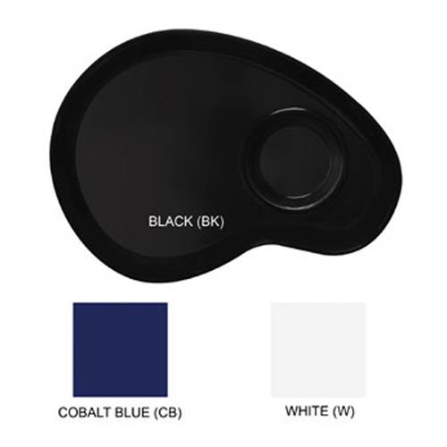 """Let's Party White 12"""" Palette Plate at Discount Sku PP-976-W GETPP976W"""