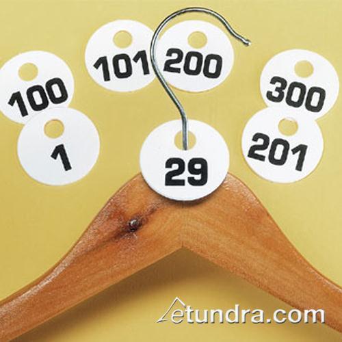 1 100 Coat Check Tags