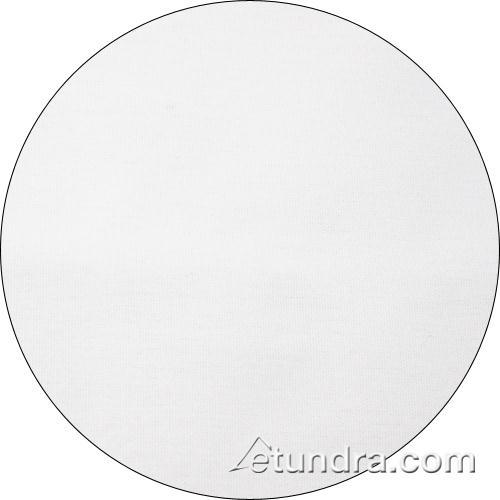 Nouveau 120 in Round White Tablecloth at Discount Sku TULT120ROWH SNPTULT120ROWH