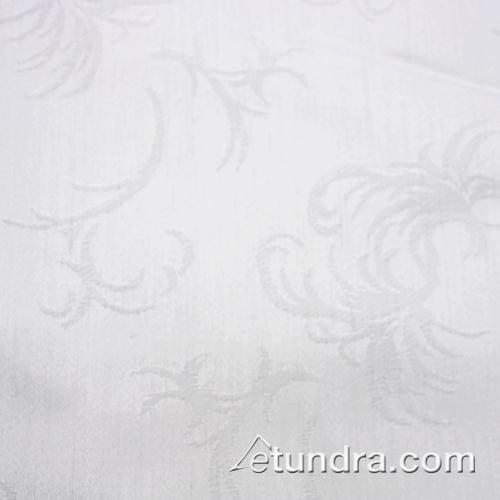 Windsor 52 in x 114 in White Tablecloth at Discount Sku TWIN52114OWH SNPTWIN52114OWH