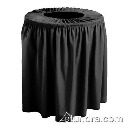 Wyndham 55 gal Black Trash Can Cover at Discount Sku TCCWYN55 SNPTCCWYN55BK
