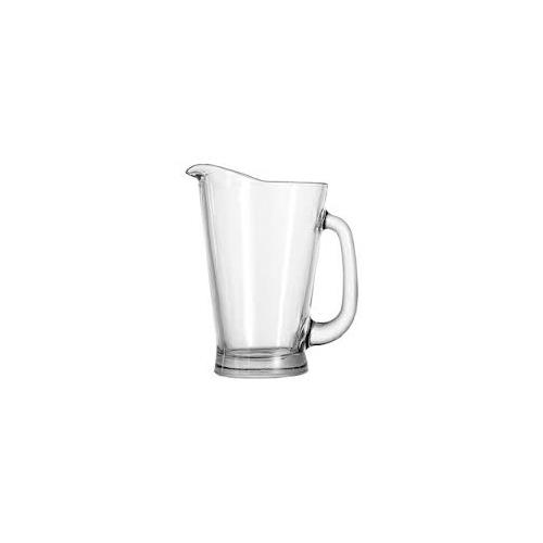 Anchor Hocking 1155UR 55 oz Glass Beer Wagon Pitcher for Restaurant Chef