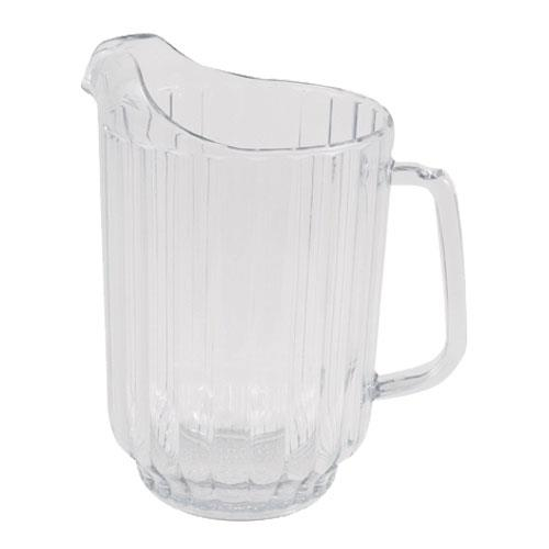Carlisle 554007 VersaPour 60 oz Clear Pitcher for Restaurant Chef