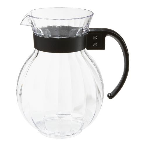 Tahiti 90 oz Pitcher w/ Black Handle at Discount Sku P-4091-PC-BK GETP4091PCBK