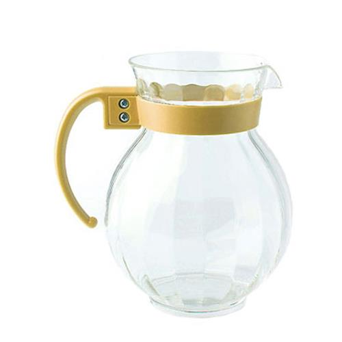 Tahiti 90 oz Pitcher w/ Yellow Handle at Discount Sku P-4091-PC-TY GETP4091PCTY