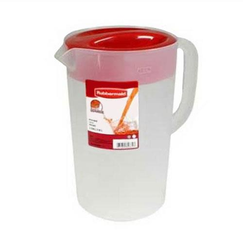 Rubbermaid 3063 1 Gallon Pitcher with Lid for Restaurant Chef