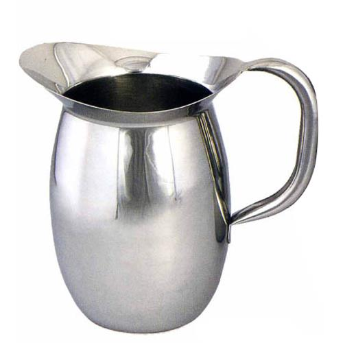 2 Qt Stainless Steel Bell Pitcher at Discount Sku WPB-2 WINWPB2