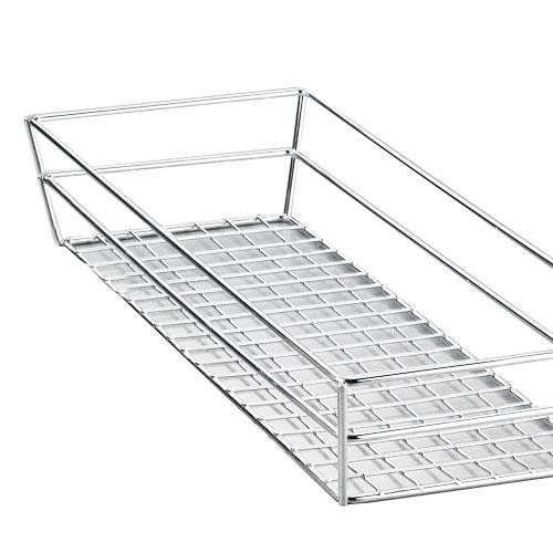 """13"""" x 6"""" Stainless Steel Grid Basket at Discount Sku GCSS6132 AMMGCSS6132"""