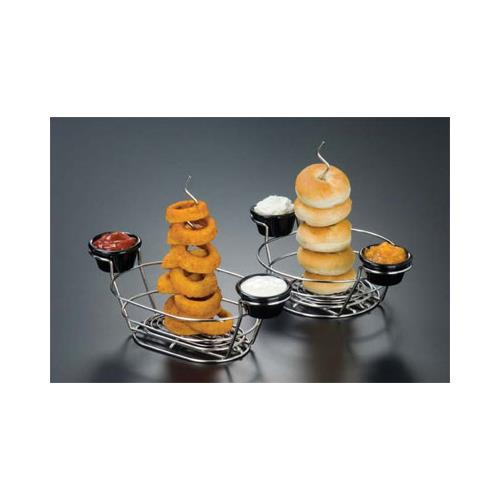 Oval Stainless Steel Onion Ring Spindle at Discount Sku ORHO2 AMMORHO2