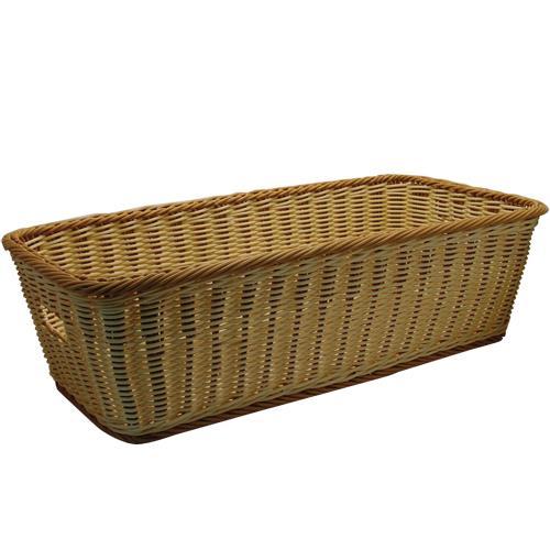 Rectangular Designer Polyweave Basket at Discount Sku WB-1519-TT 86413