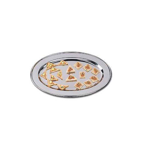 "8 1/4"" x 12"" Oval Stainless Steel Platter at Discount Sku OST12 AMMOST12"