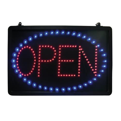 update led open open sign etundra. Black Bedroom Furniture Sets. Home Design Ideas