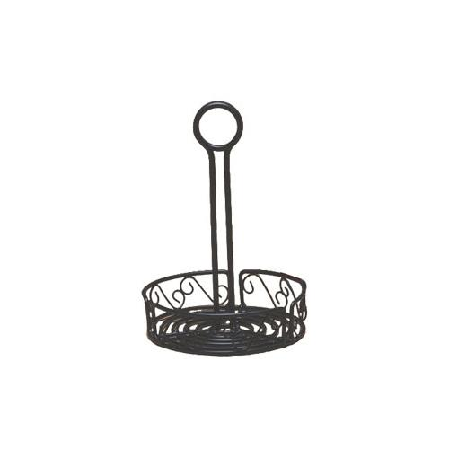 """Ironworks 6 1/4"""" Scroll Wrought Iron Condiment Rack at Discount Sku WBCC6 AMMWBCC6"""