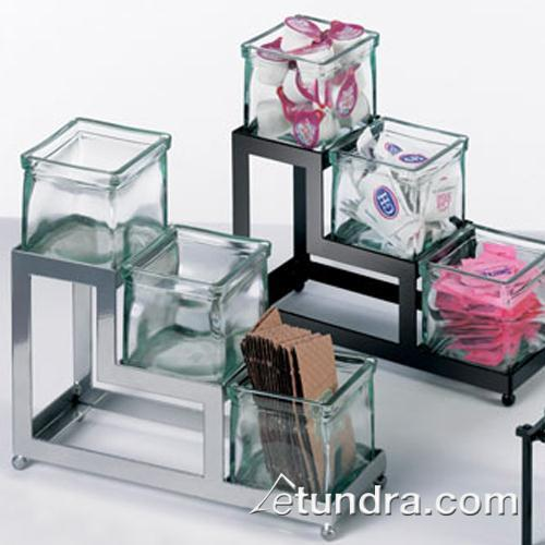 Cal mil 1803 4 49 3 tier silver 4 in jar display etundra for Dining room equipment
