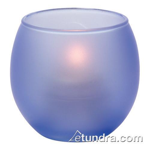 Satin Dark Blue Bubble Tealight Lamp at Discount Sku 5119SDB HLW5119SDB