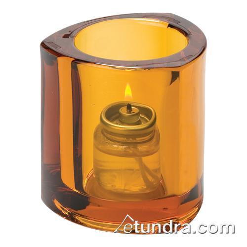 Amber Triangle Tealight Lamp at Discount Sku 5160A HLW5160A