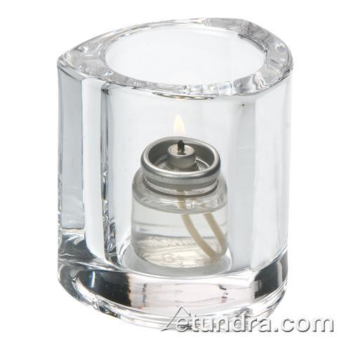 Clear Triangle Tealight Lamp at Discount Sku 5160C HLW5160C
