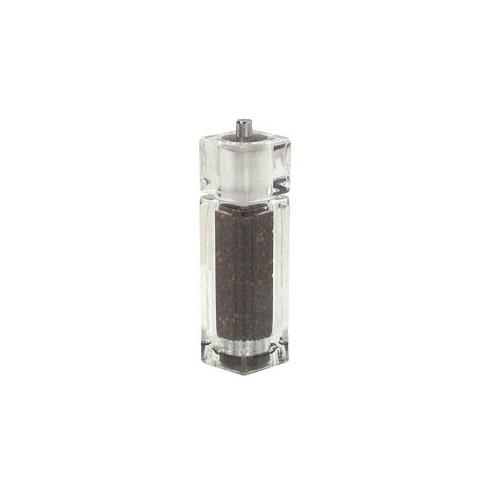 American Metalcraft CPM62 Acrylic Salt & Pepper Combo Shaker for Restaurant Chef