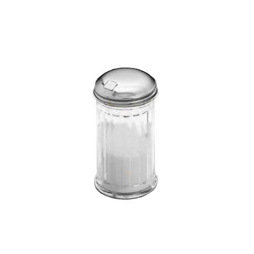 American Metalcraft GLA316 12 oz Glass Sugar Pourer w/Top for Restaurant Chef
