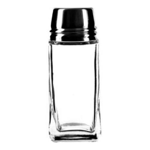 Anchor Hocking 80570 2 oz Shaker w/ metal lid for Restaurant Chef