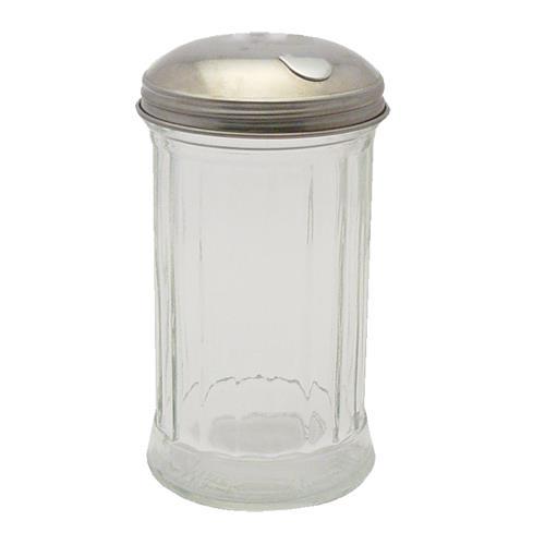 Winco G-102 12 oz Glass Sugar Pourer for Restaurant Chef