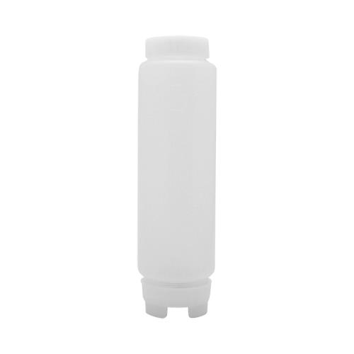 FIFO 16 oz Thin Tip Squeeze Bottle for Restaurant Chef