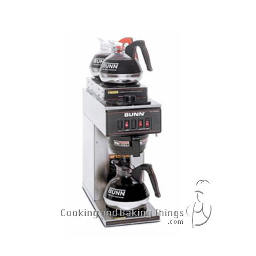 Bunn Coffee Maker No Plastic Parts : Bunn VP17 3 Pourover Coffee Brewer w 3 Warmers 72504018768 eBay
