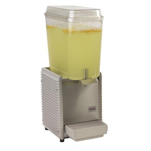 1 Bowl Refrigerated Beverage Dispenser with Plastic Side Panels