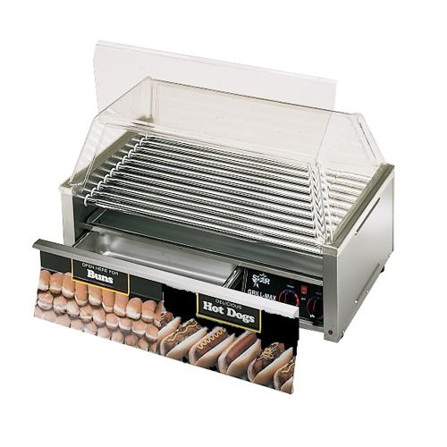 Star 50cbd grill max 50 hot dog roller grill w bun for Equipement resto pro