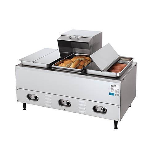 Restaurant Hot Dog Steamers