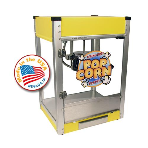 Yellow Kitchen Equipment: 4 Oz Cineplex Popcorn Popper Yellow