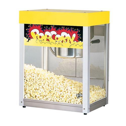 Yellow Kitchen Equipment: Star - 39-A - JetStar 6 Oz Yellow Popcorn Popper