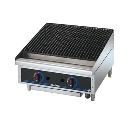 Countertop Broiler : 95273 - Star Manufacturing - 6124RCBF - Star-Max? 24 in Radiant Gas ...