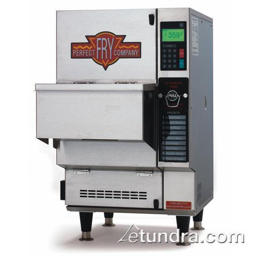 Ventless 90 lb electric fryer minti for Perfect kitchen equipment