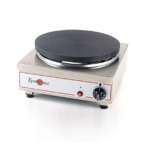 krampouz cgcid4 single gas crepe griddle maker machine ebay. Black Bedroom Furniture Sets. Home Design Ideas