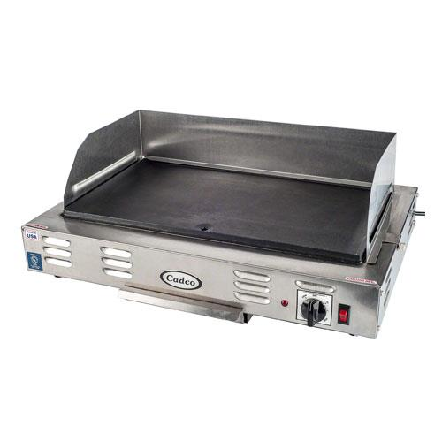 Cadco - CG-10 - 120V/1500W Electric Countertop Griddle