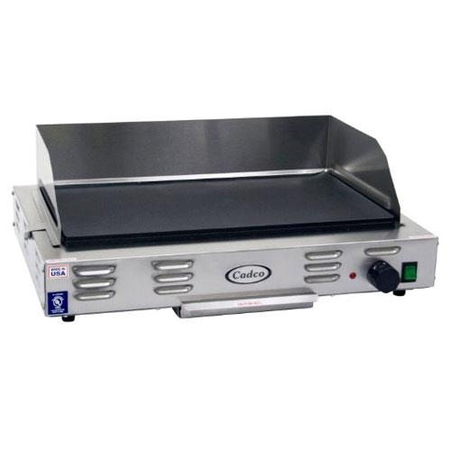 Cadco - CG-20 - 220V Electric Countertop Griddle