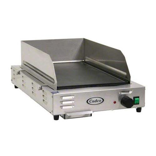 Cadco - CG-5FB - Electric Space Saver Countertop Griddle