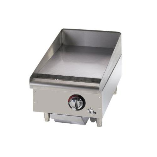 Star Commercial Griddles For Restaurants ~ Star mf max quot manual control gas griddle flat
