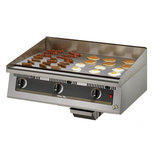 Star Commercial Griddles For Restaurants ~ Star tschsa ultra max in chrome gas griddle