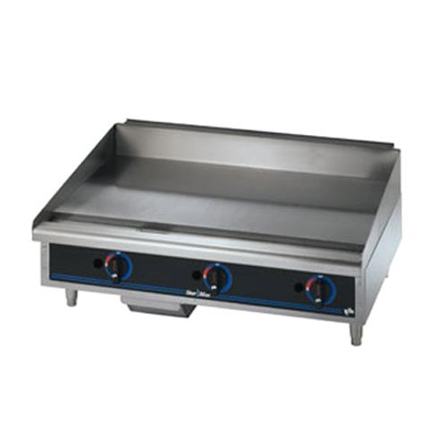 Star Commercial Griddles For Restaurants ~ Star manufacturing mf max in manual control