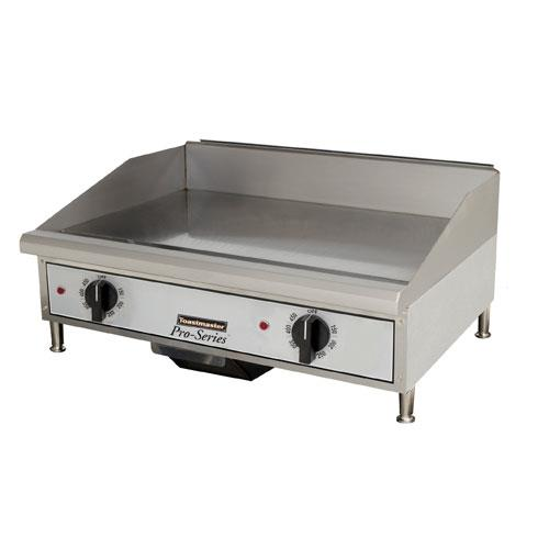 Commercial Griddles For Restaurants ~ Toastmaster tmge in pro series™ countertop